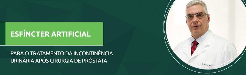 Esfíncter artificial para o tratamento da incontinência urinária